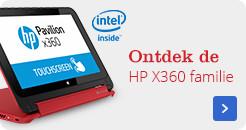 Ontdek de HP X360 Familie