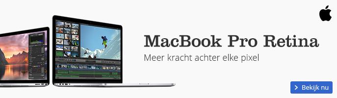 Apple MacBook Pro Retina – Meer kracht achter elke pixel