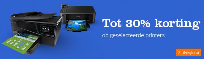 Tot 30% korting | op geselecteerde printers