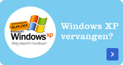 Windows XP vervangen