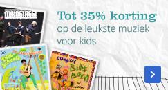 Tot 35% korting op de leukste muziek voor kids