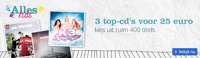 3 top-cd's voor 25 euro | kies uit ruim 400 titels