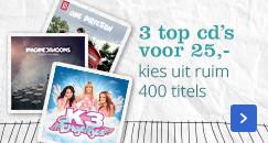 3 top cd's voor 25,- | kies uit ruim 400 titels