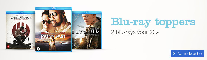Blu-ray toppers 2 blu-rays voor 20,-