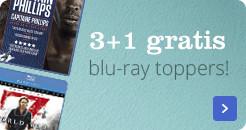 3+1 gratis op blu-ray toppers