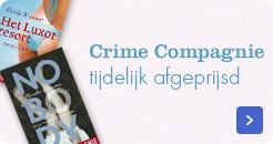 ebooks van crime compagnie, tijdelijk scherp geprijsd