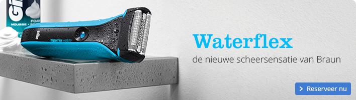 Waterflex | de nieuwe scheersensatie van Braun