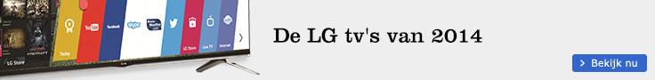 De LG tv's van 2014