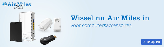 Air Miles Inwisselweken, wissel nu in voor computersaccessoires