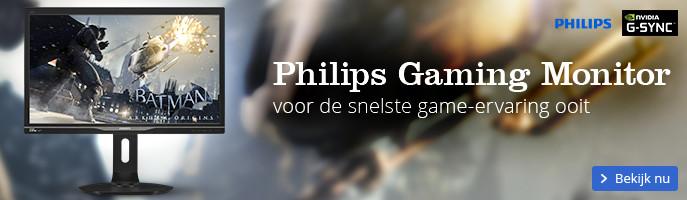 Philips Gaming Monitor voor de snelste game-ervaring ooit
