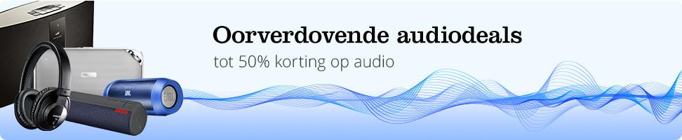 Oorverdovende audiodeals