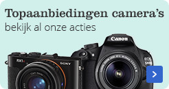 Topaanbiedingen camera's