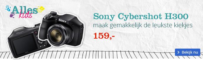Sony Cybershot H300 | maak gemakkelijk de leukste kiekjes
