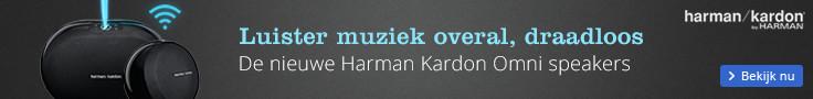 Luister muziek overal, draadloos | De nieuwe Harmon Kardon Omni speakers