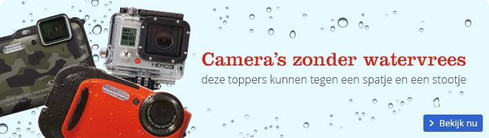 Camera's zonder watervrees