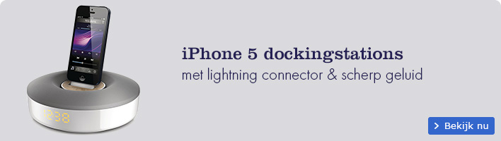 iPhone 5 dockingstations