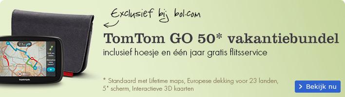 Exclusief bij bol.com TomTom GO 50 vakantiebundelmet
