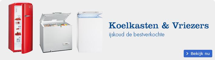 De bestverkochte koel- en vries-apparaten