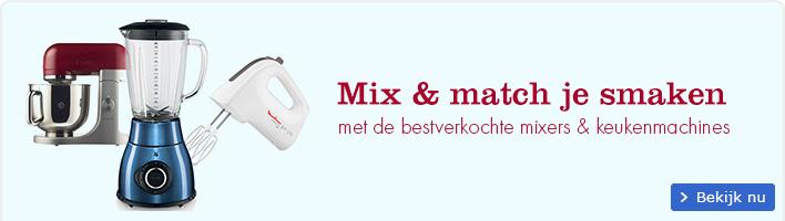 De bestverkochte mixers & keukenmachines