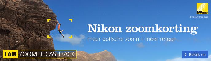 Zoom korting met Nikon | meer optische zoom = meer retour