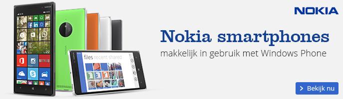 Nokia smartphones makkelijk in gebruik met Windows Phone