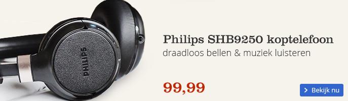 Philips SHB9250 koptelefoon | draadloos bellen & muziek luisteren