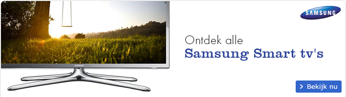 Ontdek alle Samsung Smart tv's