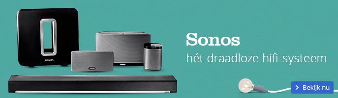 Sonos hét draadloze hifi-systeem