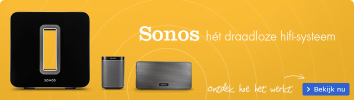 Sonos | Hét draadloze hifi-systeem