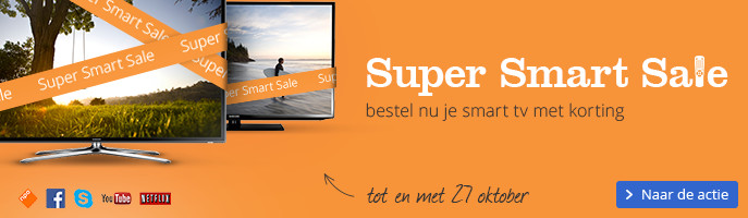 Super smart sale bestel nu je smart tv met korting