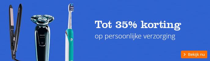 Tot 35% korting op persoonlijke verzorging