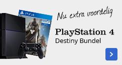 PlayStation 4 Destiny Bundel, nu extra voordelig