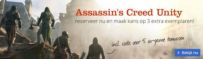Assassin's Creed Unity | reserveer nu en maak kans op 3 extra exemplaren!
