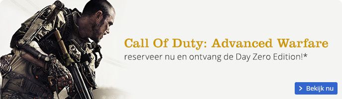 Call Of Duty Advanced Warfare | reserveer nu en ontvang de Day Zero Edition