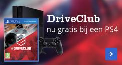 DriveClub nu gratis bij een PS4