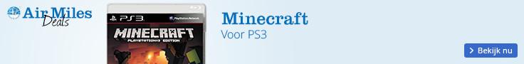 Minecraft, het leukste spel voor de PS3