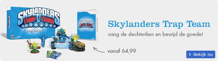 Reserveer nu Skylanders Trap Team | vang de slechteriken en bevrijd de goede!
