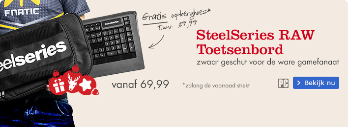 SteelSeries RAW Toetsenbord
