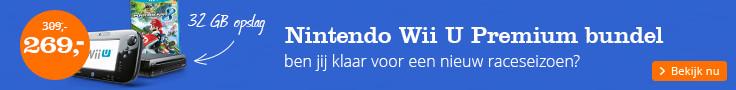 Nintendo Wii U Premium bundel, ben jij klaar voor een nieuw raceseizoen?