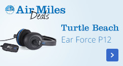 Turtle Beach Ear Force P12 | Air Miles Deal