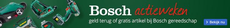 Bosch actieweken