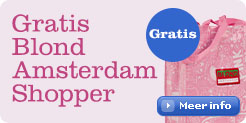 Gratis Blond Amsterdam shopper