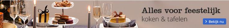 Alles voor feestelijk koken & tafelen