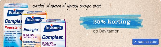20% korting op Davitamon