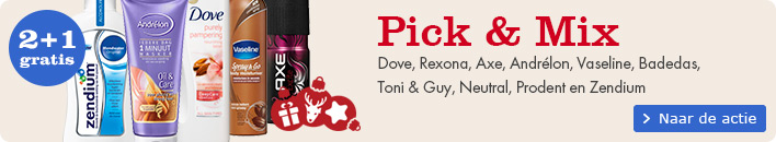 Pick & Mix: 2+1 gratis