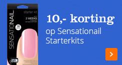 10,- korting op Sensationail Starterkits