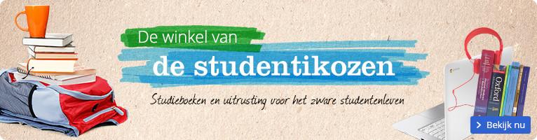 De winkel van de studentikozen | studieboeken en uitrusting voor het zware studentenleven