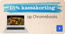 15% kassakorting op Chromebooks