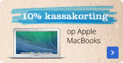 10% kasssakorting op MacBooks