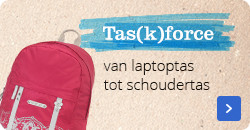 Tas(k)force| van laptop tot schoudertas